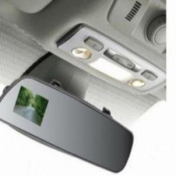 Oglinda retrovizoare cu camera foto/video HD, senzor de miscare,