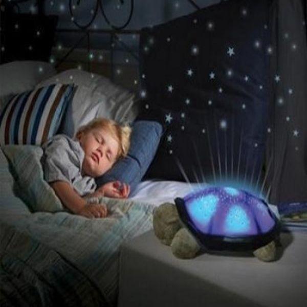 Lampa de veghe pentru copii, broasca testoasa care proiecteaza s