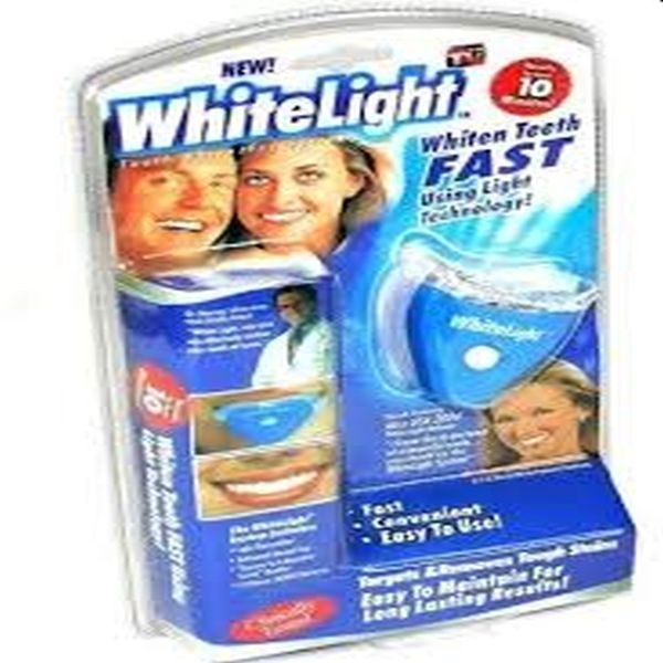 Albirea dintilor acasa cu White Light kit, tratament cu lumina s