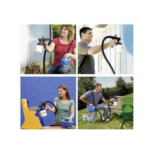 Pistol de vopsit si zugravit Paint Zoom, cel mai eficient mod de