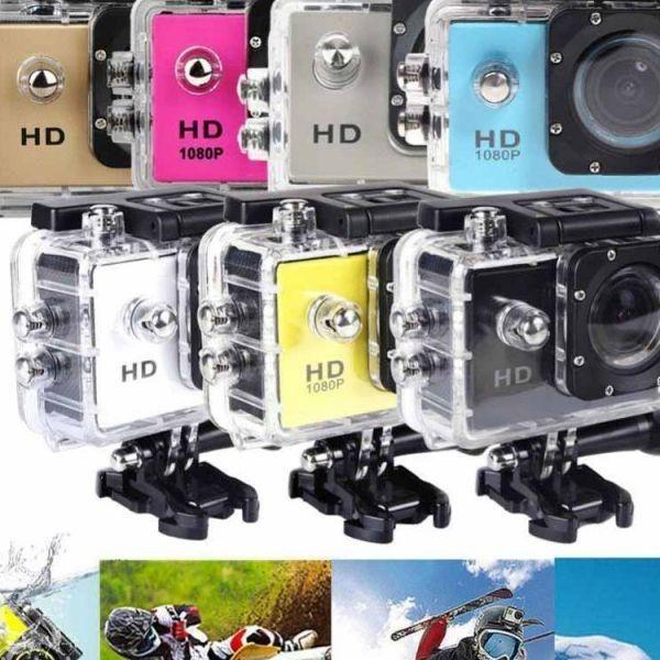 Camera video sport rezistenta la apa, tehnologie ideala pentru s