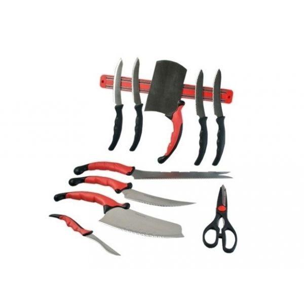 Cutite inox profesionale Pro Knives, cu 11 accesorii