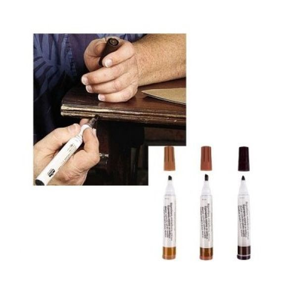 Set 3 markere pentru mobila deteriorata sau zgariata