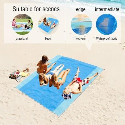 Patura plaja, picnic, mat, anti nisip si mat pliabil