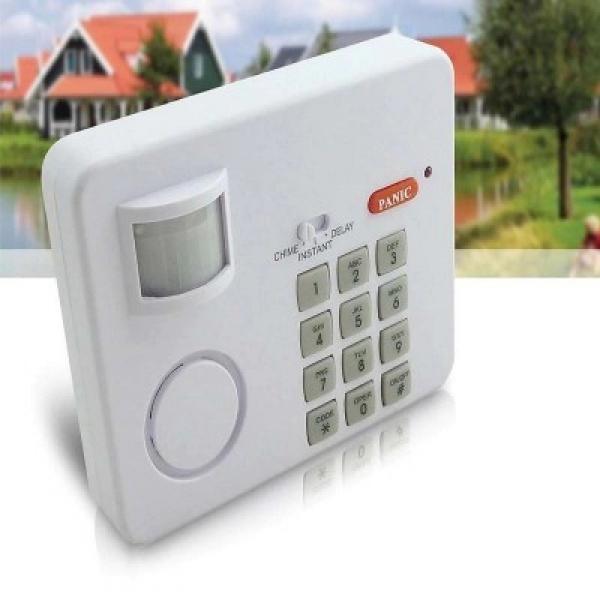 Alarma wireless cu senzor de miscare si cod