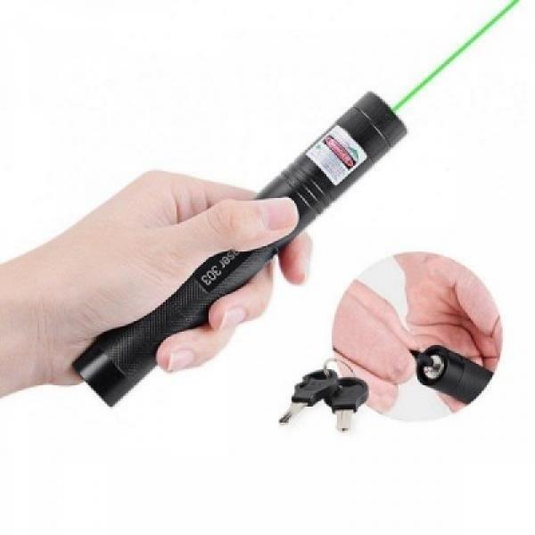 Laser cu LED verde si acumulator reincarcabil