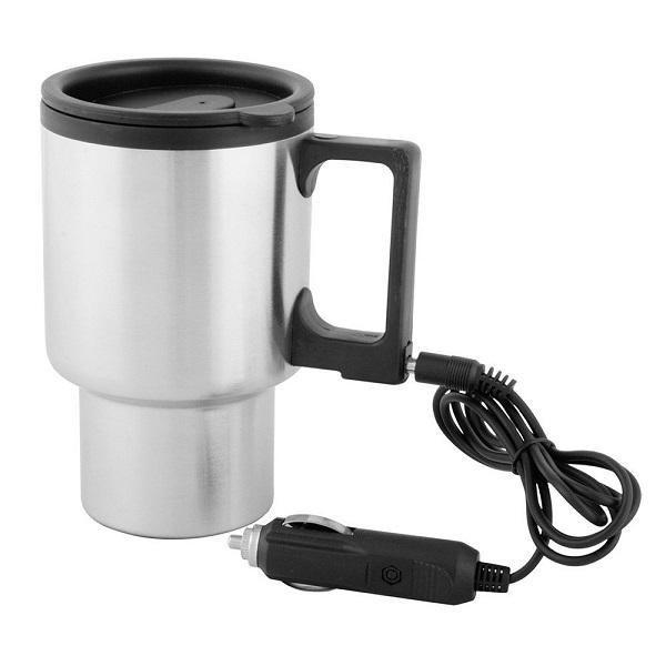 Cana termos auto, pentru cafea si ceai,cu capac