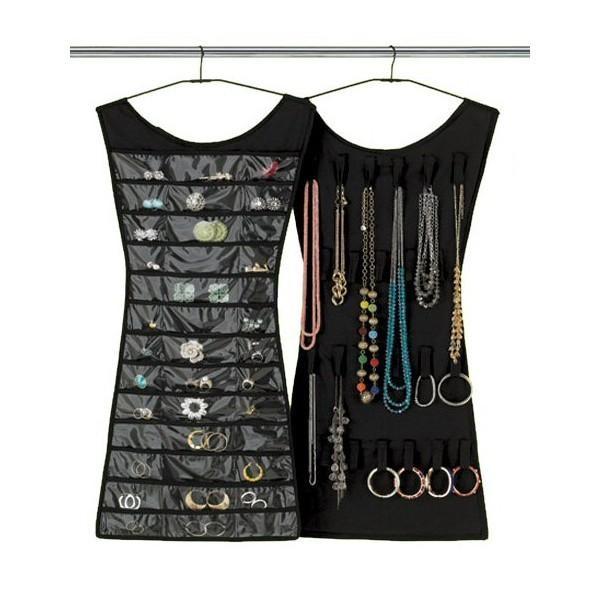 Organizator accesorii, inele si bijuterii, in forma de rochita