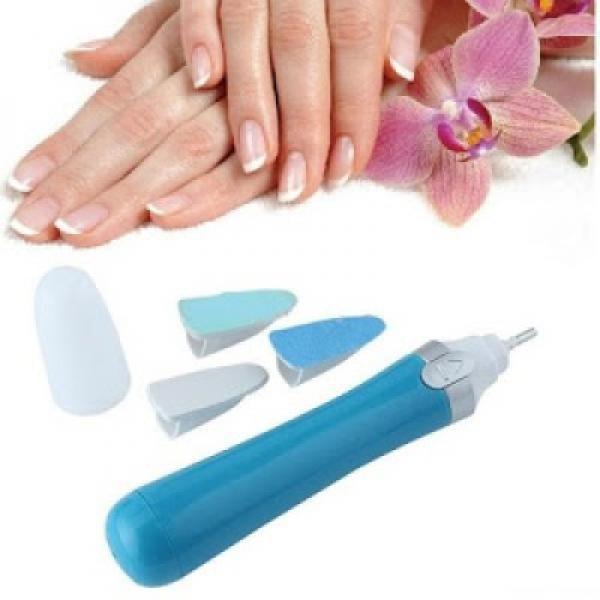 Pila electrica pentru unghii , 3 accesorii