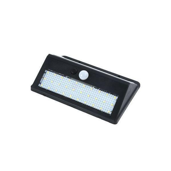Set 2 x lampa 30 de led-uri cu incarcare solara si senzor de miscare