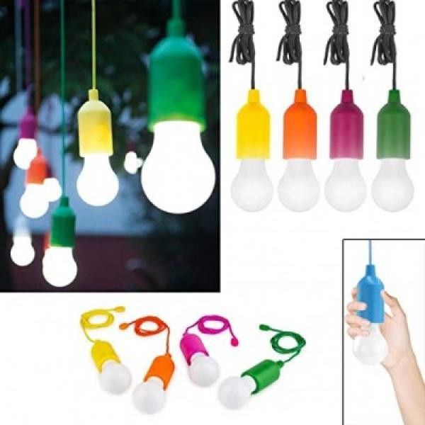 Set 4 becuri LED, fara fir