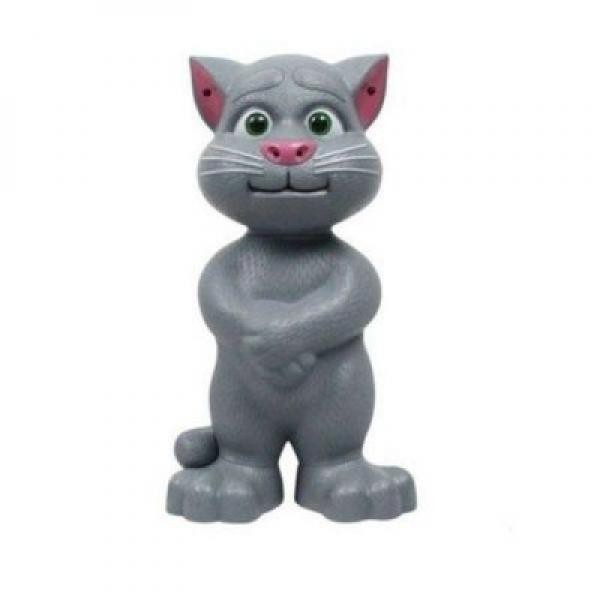 Jucaria interactiva- pisica vorbeste, toarce si rade, 28 cm