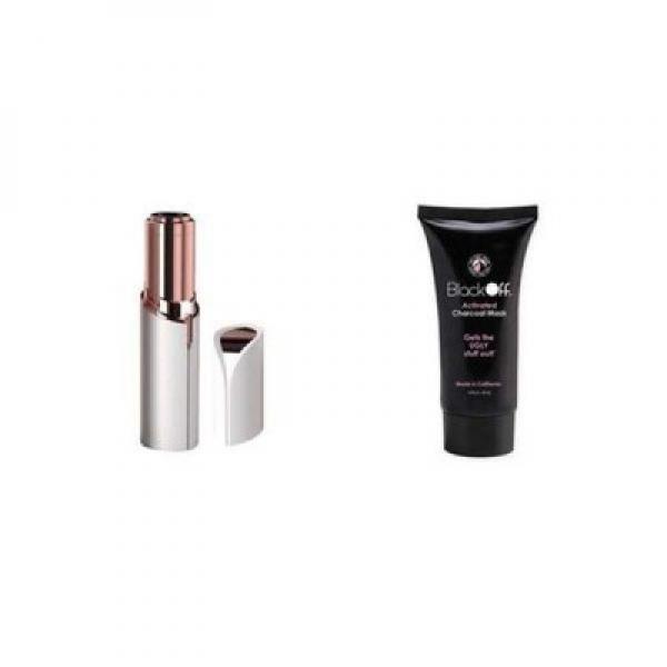 Set cosmetica: epilator facial + Masca pentru puncte negre