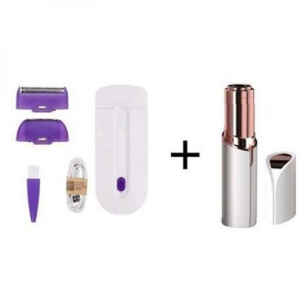 Pachet cosmetic complet: Epilator corp + Trimmer facial