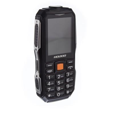Telefon militar H628, 13800 mAh, Dual SIM, FM radio, Lanterna, Negru-Gri