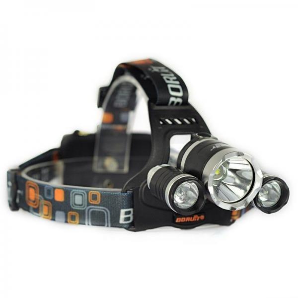Lanterna frontala, 3 LED-uri