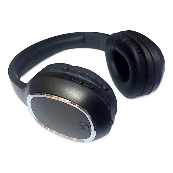Casti Bluetooth Soundvox cu microfon si radio, reincarcabile,  Over The Ear