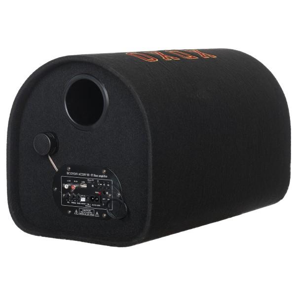 Subwoofer Soundvox  de 10 , Max. 1000W PMPO, Bluetooth, USB, TF Card, Telecomanda, Negru