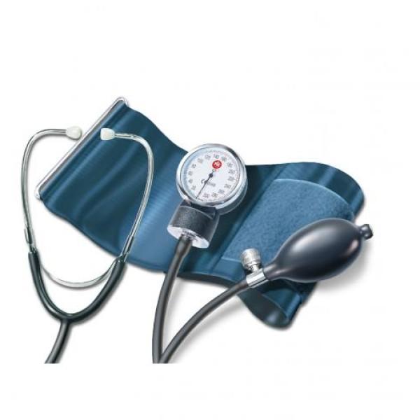 Tensiometru de precizie,  cu manometru si stetoscop incorporat