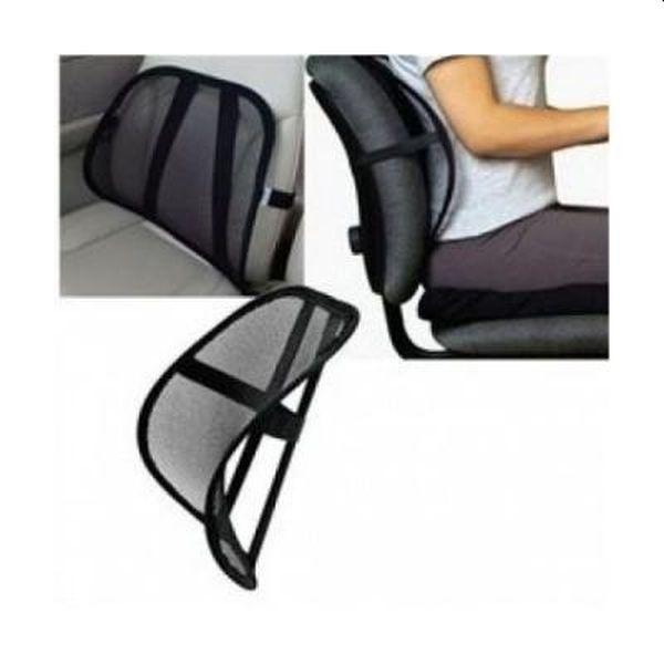 Suport lombar scaun auto, cu sistem de fixare, set de 2 bucati