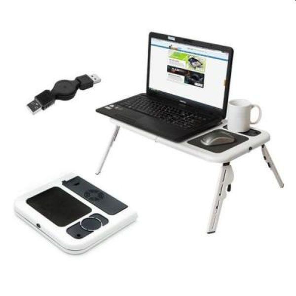 Masuta pentru laptop cu USB, cooler, reglabila