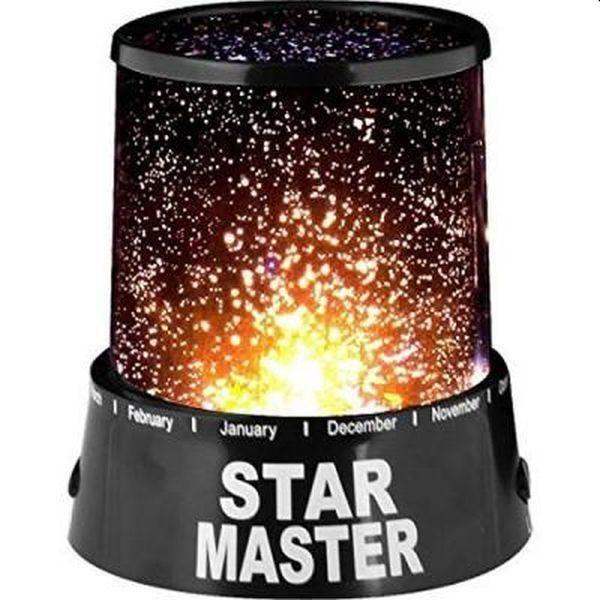 Lampa de veghe proiector de stele pentru copii