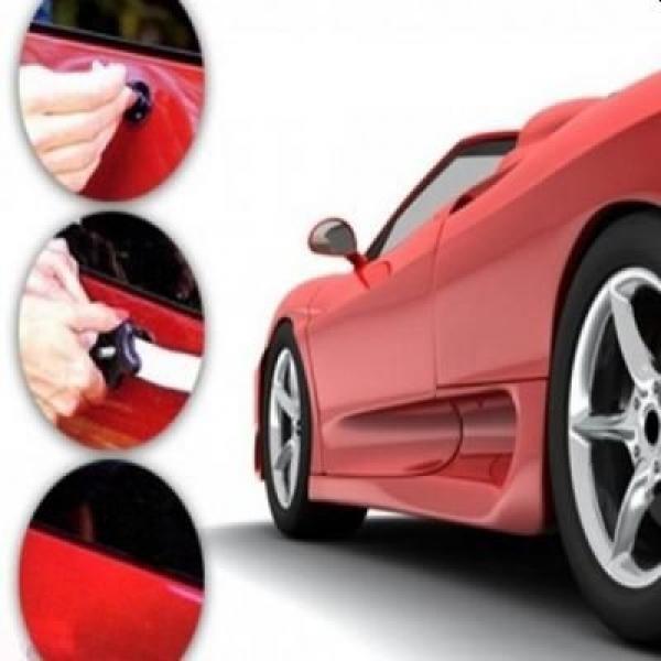 Kit pentru reparatii caroserie auto, cu ventuze si adeziv
