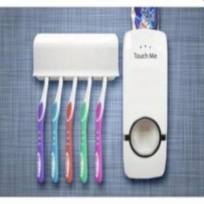 Dozator pasta de dinti+suport pentru 5 periute