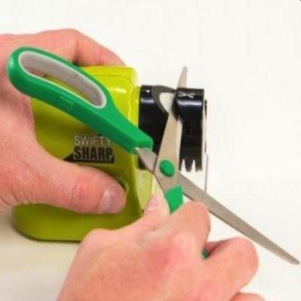 Aparat electric de ascutit cutite, foarfece si unelte