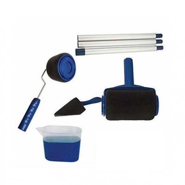 Trafalet Paint Roller , cu rezervor, cu spatula pentru colturi